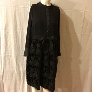 MODCLOTH  X ANNA SUI DRESS  VINTAGE INSPIRED